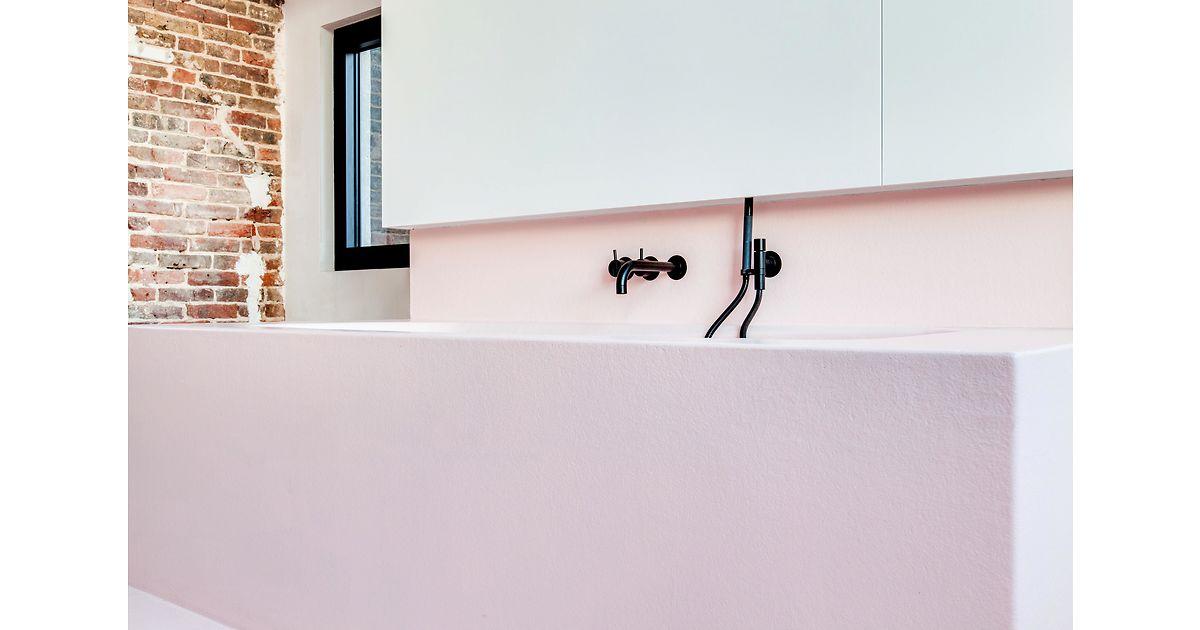 Polyester Badkamer Muur : Hout & polyester bram hout & polyester